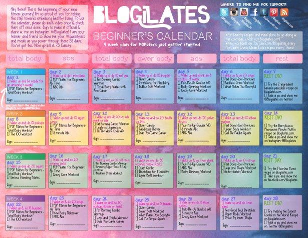 2013, DECEMBER - Blogilates- photo 5