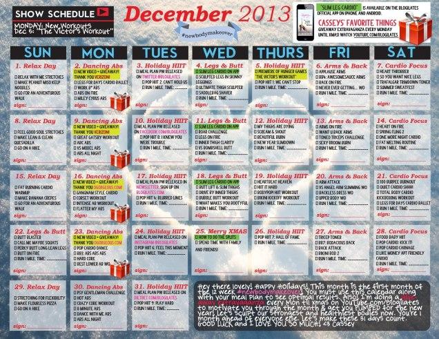 2013, DECEMBER - Blogilates- photo 9