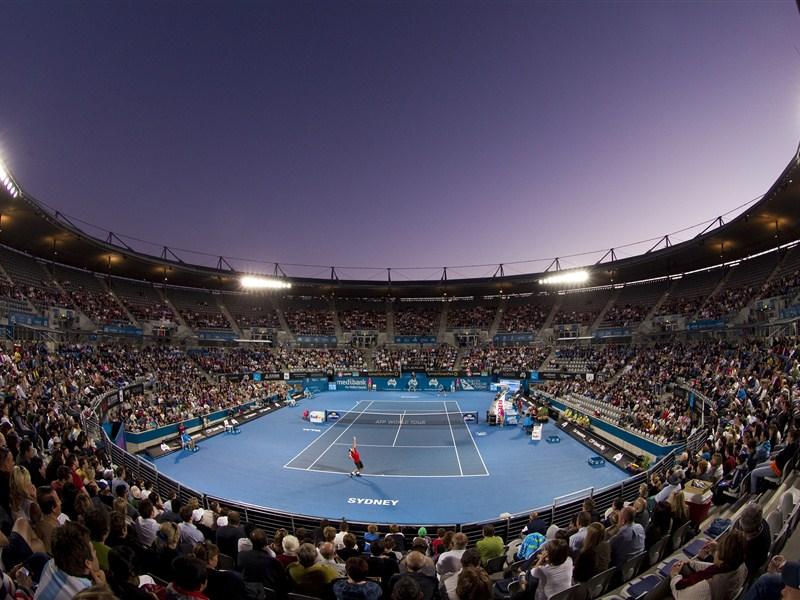 APIA International Sydney Olympic Park Tennis Centre The