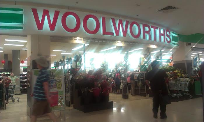 Australia Day merchandise – Woolworths – The Walking