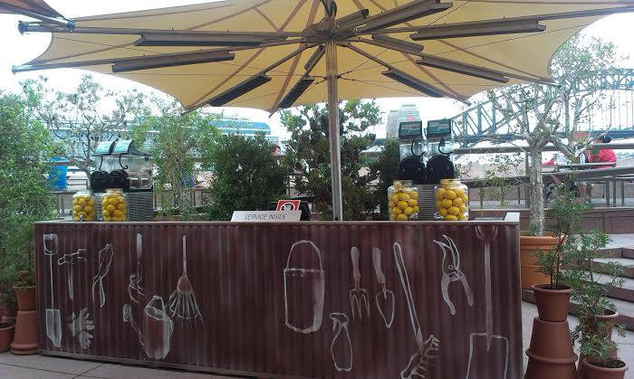 sydney s backyard at the opera bar the walking advertisement
