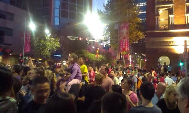 Sydney CNY Twilight parade - photo 2