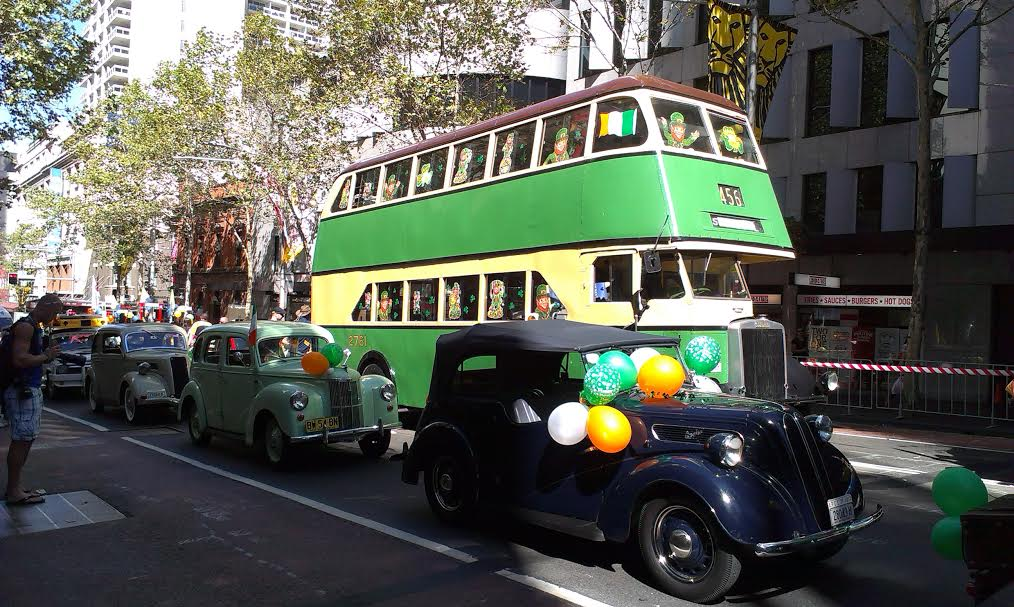 St patrick's day date in Sydney