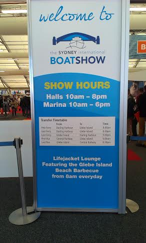 Glebe Island Sydney International Boat Show - photo 16