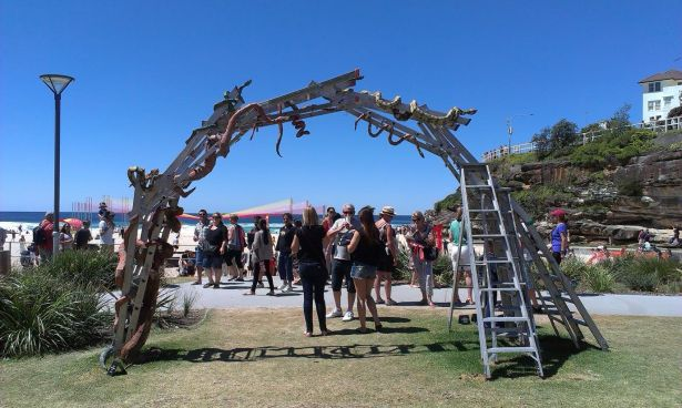 Sculptures by the sea - photo 30