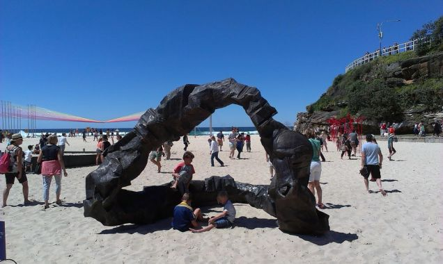 Sculptures by the sea - photo 31
